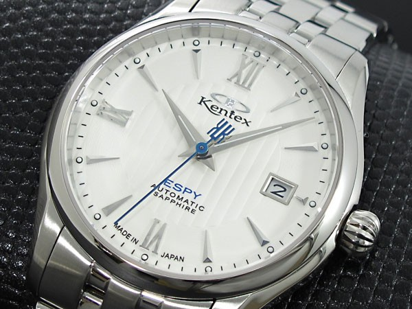 ケンテックス KENTEX エスパイ オープンハート 自動巻き 腕時計 E573M-01-1