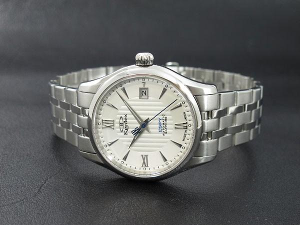 ケンテックス KENTEX エスパイ オープンハート 自動巻き 腕時計 E573M-01-2