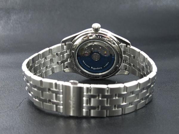 ケンテックス KENTEX エスパイ オープンハート 自動巻き 腕時計 E573M-01-3