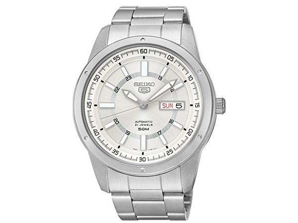 SEIKO 5 セイコー5 逆輸入 自動巻き メンズ 腕時計 SNKN09J1 日本製-1