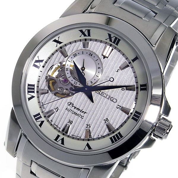 セイコー SEIKO プルミエ 逆輸入 日本製 自動巻き メンズ 腕時計 SSA275J1-1