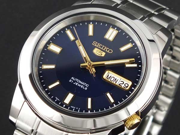 SEIKO 5 セイコー5 逆輸入 自動巻き メンズ 腕時計 SNKK11K1-1