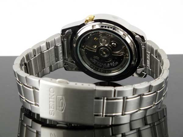 SEIKO 5 セイコー5 逆輸入 自動巻き メンズ 腕時計 SNKK11K1-3