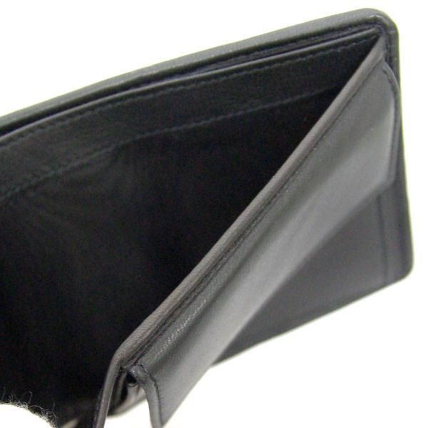 フェラガモ Ferragamo メンズ 二つ折り 短財布 66-9437 ブラック レザー-3