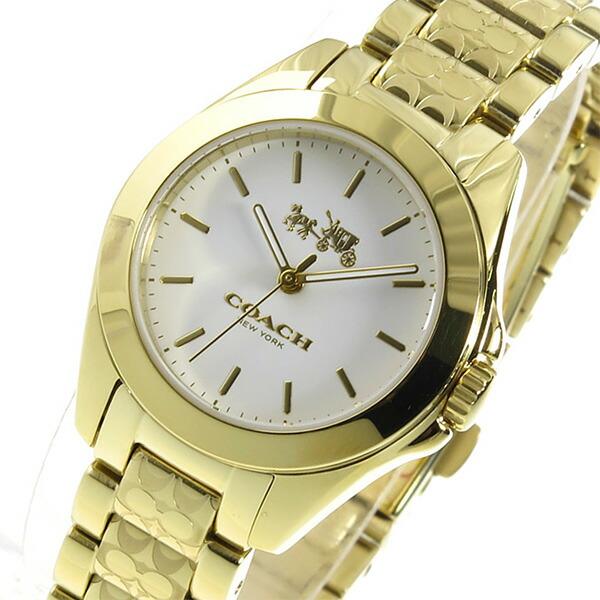 コーチ COACH トリステン クオーツ レディース 腕時計 14502184 ホワイト-1