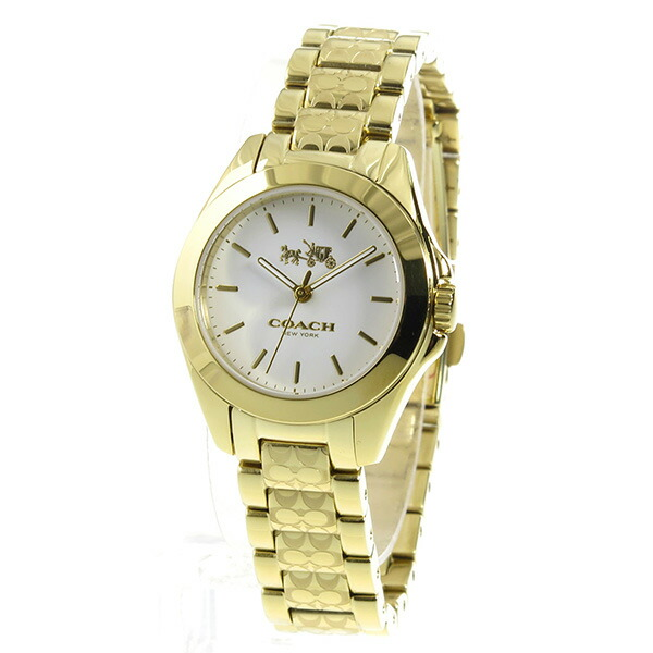 コーチ COACH トリステン クオーツ レディース 腕時計 14502184 ホワイト-2