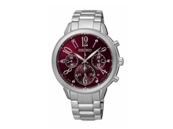 セイコー SEIKO LIKIA ルキア 逆輸入 腕時計 クロノグラフ レディース SRW821P1-1