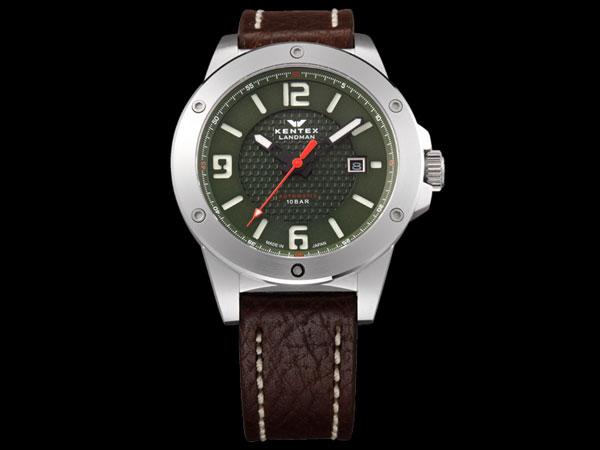 ケンテックス KENTEX ランドマン アドベンチャー 腕時計 メンズ S763X-02-1