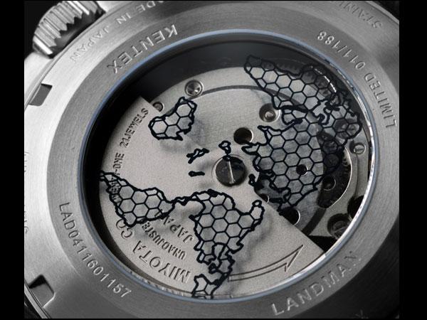 ケンテックス KENTEX ランドマン アドベンチャー 腕時計 メンズ S763X-02-2