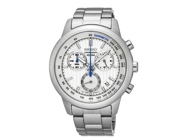 セイコー SEIKO 逆輸入 クロノグラフ メンズ 腕時計 SSB203P1 メタルベルト-1