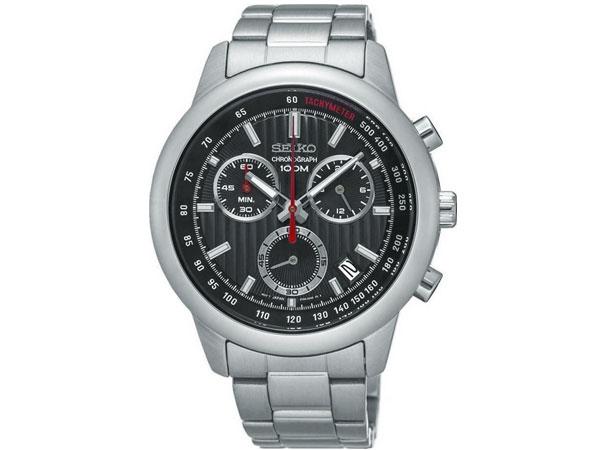 セイコー SEIKO 逆輸入 クロノグラフ メンズ 腕時計 SSB205P1 メタルベルト-1