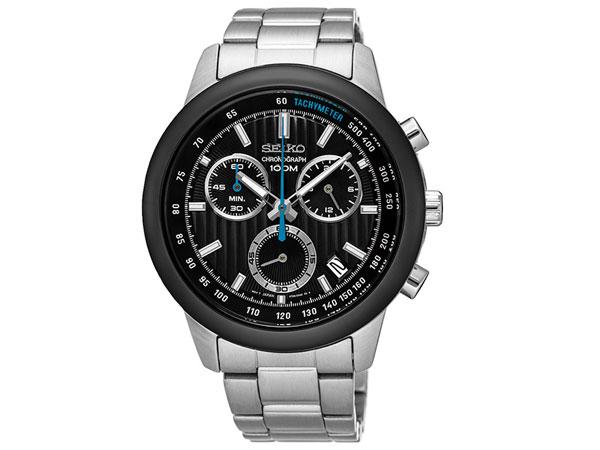 セイコー SEIKO 逆輸入 クロノグラフ メンズ 腕時計 SSB217P1 メタルベルト-1