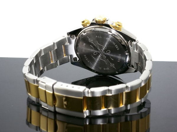 テクノス TECHNOS 腕時計 メンズ TGM640TB クロノグラフ クオーツ-3
