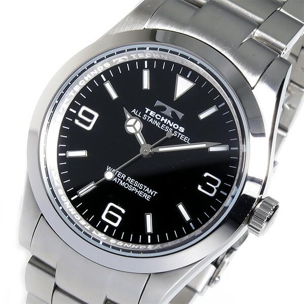 テクノス TECHNOS 腕時計 メンズ TSM208SB クオーツ-1