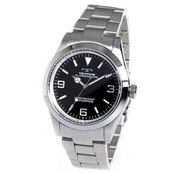 テクノス TECHNOS 腕時計 メンズ TSM208SB クオーツ-2
