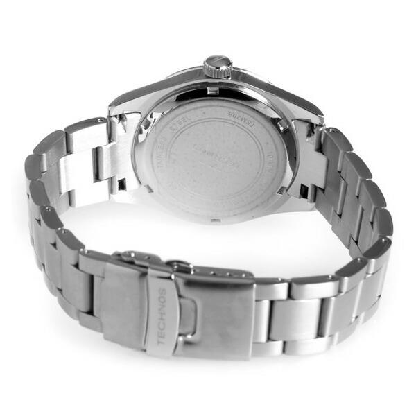 テクノス TECHNOS 腕時計 メンズ TSM208SB クオーツ-3