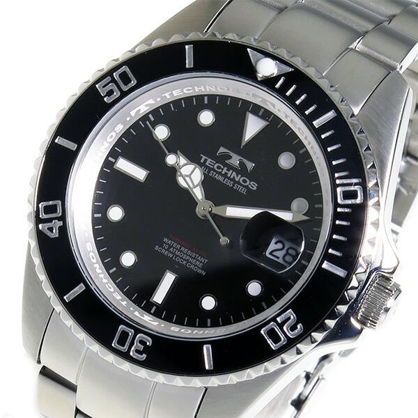 Aaa net shop technos technos watches men 39 s tsm402sb diver design rakuten global market for Technos watches