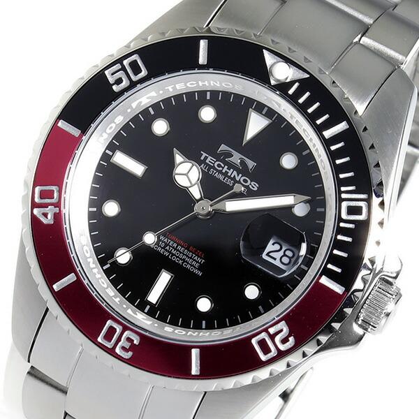 テクノス TECHNOS 腕時計 メンズ TSM402SH ダイバー デザイン-1