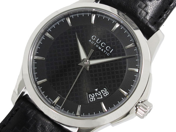 GUCCI グッチ Gタイムレス 腕時計 自動巻き メンズ YA126413-1