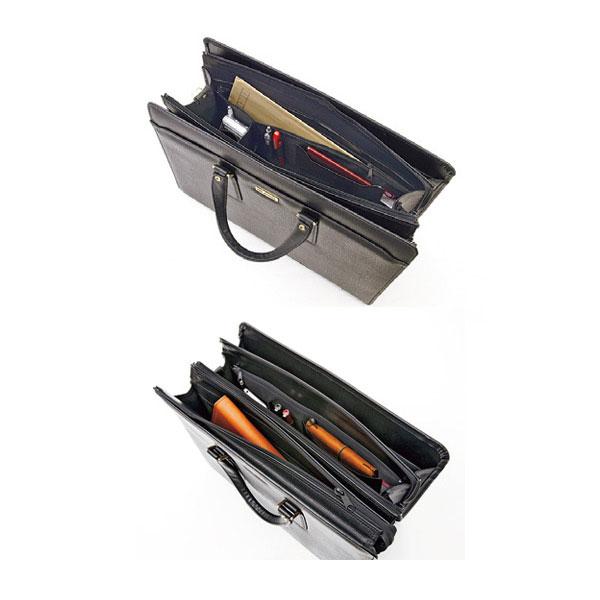 Gガスト ビジネスバッグ ブリーフケース メンズ 22026 ブラック-3