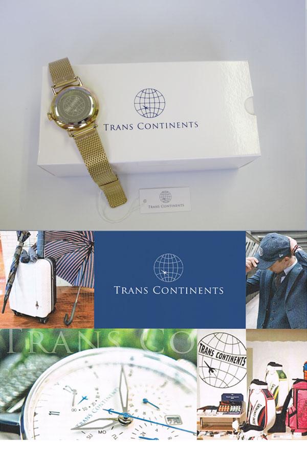 トランスコンチネンツ TRANS CONTINENTS 腕時計 レディース ボーイズ TC-AD-002-3