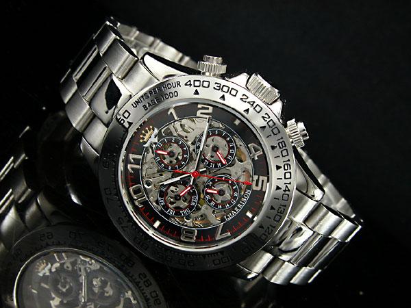 ジョンハリソン JOHN HARRISON フルスケルトン 自動巻き 腕時計 JH003-RB-2