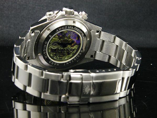 ジョンハリソン JOHN HARRISON フルスケルトン 自動巻き 腕時計 JH003-RB-3