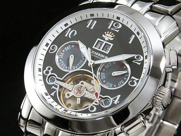 ジョンハリソン JOHN HARRISON 自動巻き メンズ 腕時計 JH-008BB-1