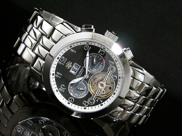 ジョンハリソン JOHN HARRISON 自動巻き メンズ 腕時計 JH-008BB-2