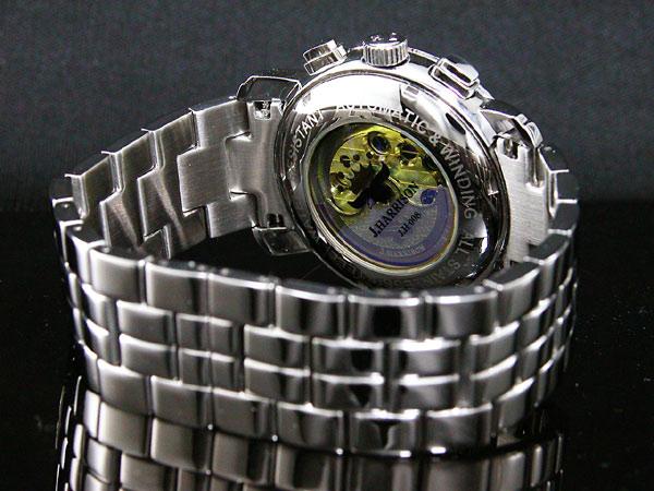 ジョンハリソン JOHN HARRISON 自動巻き メンズ 腕時計 JH-008BB-3