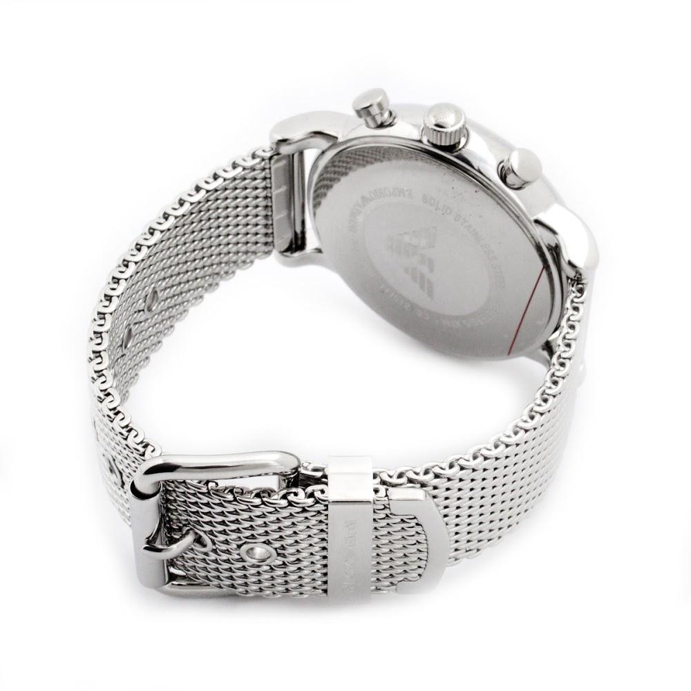 エンポリオ アルマーニ ルイージ クオーツ クロノ メンズ 腕時計 AR1808-3