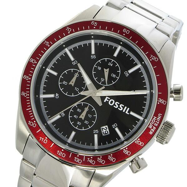フォッシル FOSSIL クロノ クオーツ メンズ 腕時計 BQ2086 ブラック-1