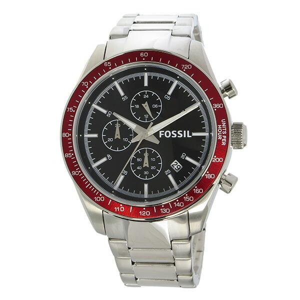 フォッシル FOSSIL クロノ クオーツ メンズ 腕時計 BQ2086 ブラック-2