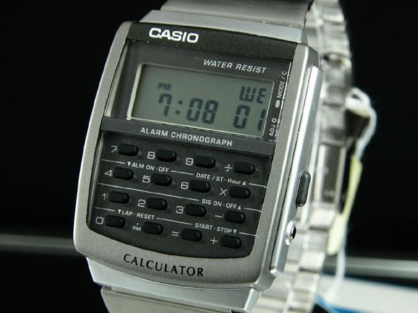 カシオ CASIO カリキュレーター 腕時計 CA-506-1UW-1