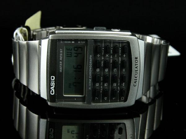 カシオ CASIO カリキュレーター 腕時計 CA-506-1UW-2