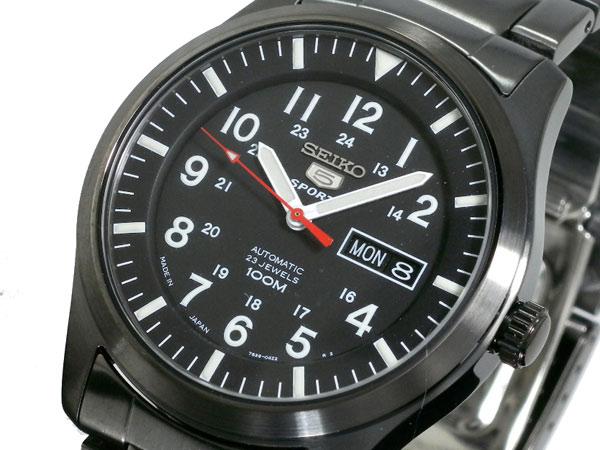 セイコー5 SEIKO ファイブ スポーツ 腕時計 自動巻き SNZG17J1-1