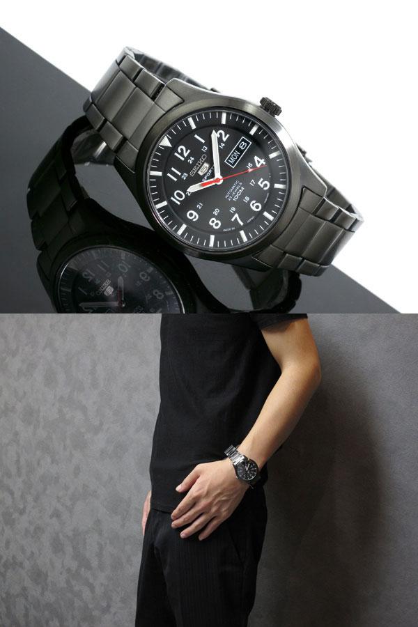 セイコー5 SEIKO ファイブ スポーツ 腕時計 自動巻き SNZG17J1-2