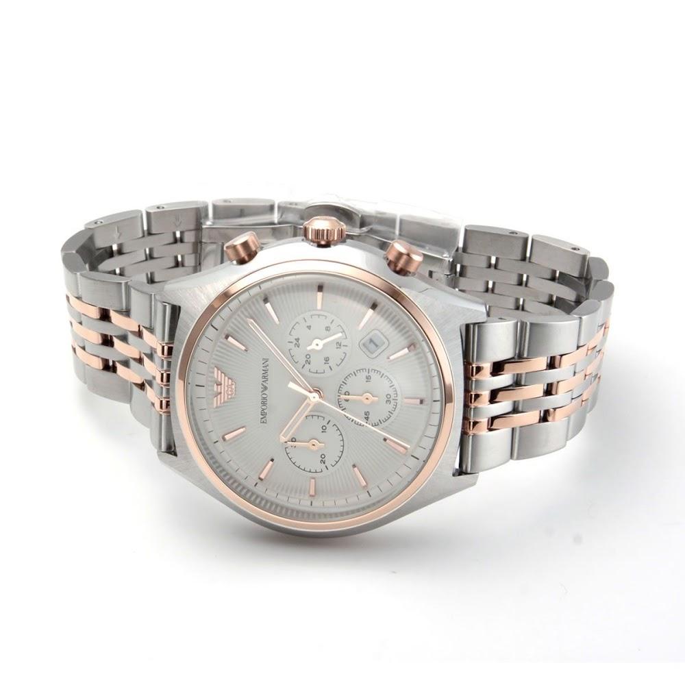 エンポリオ・アルマーニ EMPORIO ARMANI AR1998  クロノグラフ メンズ腕時計-2