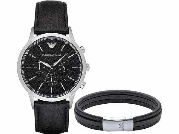 エンポリオ アルマーニ ARMANI 腕時計 ブレスレット セット メンズ AR8034-1