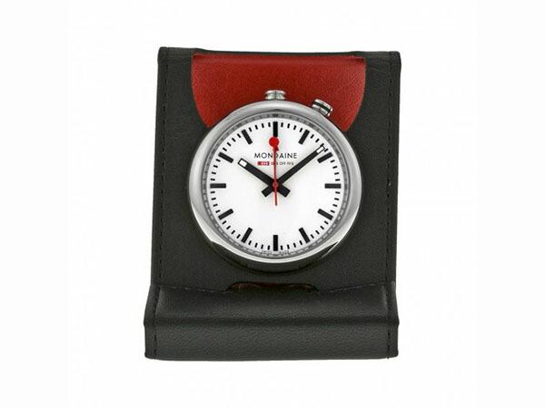 モンディーン MONDAINE 置時計/目覚まし時計 アラームクロック A468.30319.11SBB-1