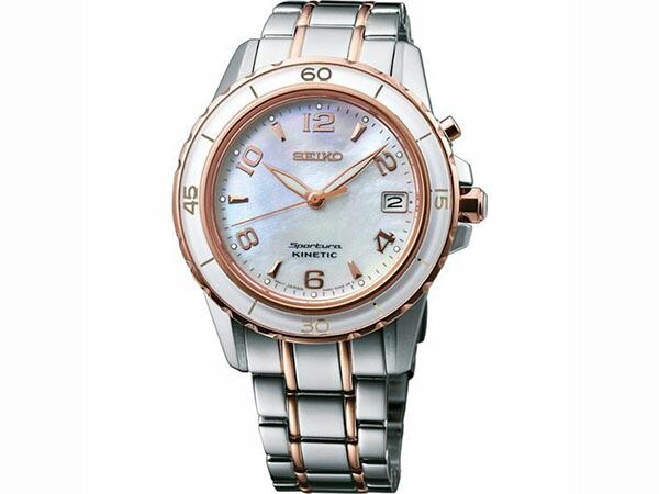 セイコー SEIKO キネティック スポーチュラ 腕時計 レディース SKA878P1-1