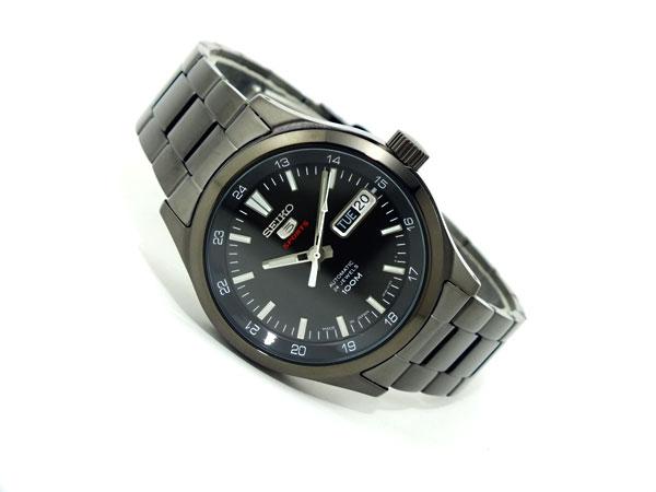 SEIKO 5 SPORTS スポーツ 逆輸入 自動巻き 日本製 メンズ 腕時計 SRP267J1 ブラック メタルベルト-2