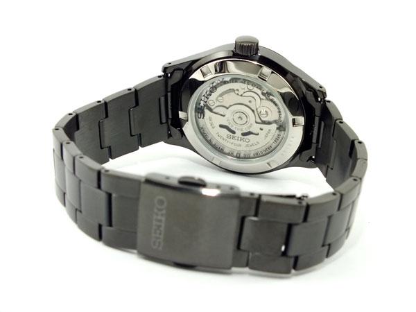 SEIKO 5 SPORTS スポーツ 逆輸入 自動巻き 日本製 メンズ 腕時計 SRP267J1 ブラック メタルベルト-3