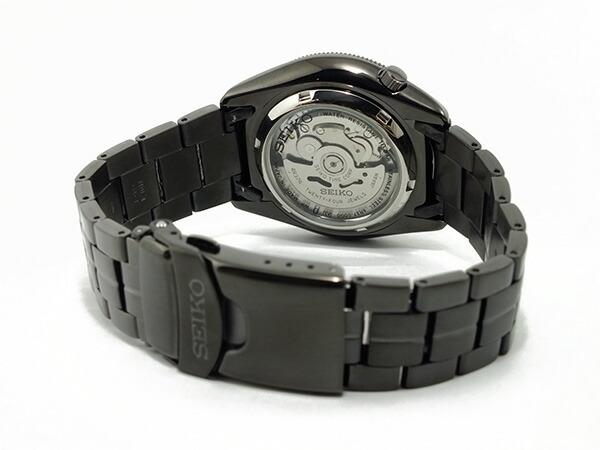 SEIKO 5 SPORTS スポーツ 逆輸入 自動巻き 日本製 メンズ 腕時計 SSA071J1 ブラック×ゴールド メタルベルト-3