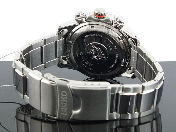 セイコー SEIKO ソーラー クロノグラフ ダイバーズ メンズ 腕時計 SSC019P1 ブルー×シルバー メタルベルト-3