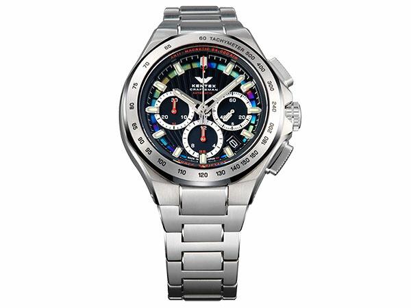 ケンテックス KENTEX クラフツマン 腕時計 プレステージ ブルークロノ S526X-07-1