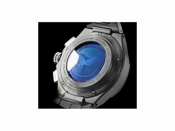 ケンテックス KENTEX クラフツマン 腕時計 プレステージ ブルークロノ S526X-07-3