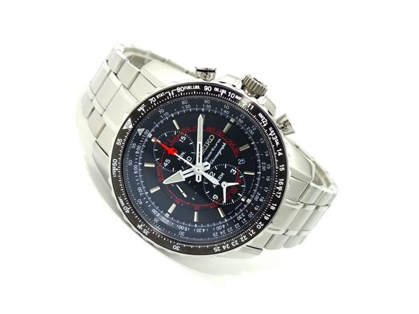 セイコー SEIKO スポーチュラ クロノグラフ 腕時計 SNAE99P1-2