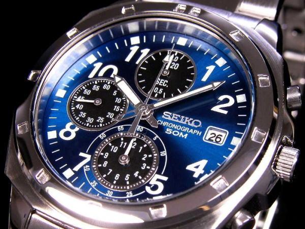 セイコー SEIKO クロノグラフ 腕時計 SND193-1