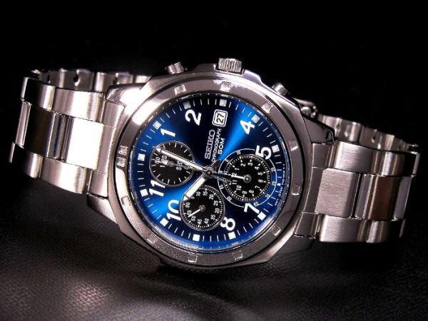 セイコー SEIKO クロノグラフ 腕時計 SND193-2